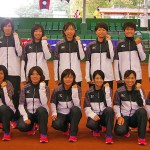 ダブルス、団体戦でワンツーフィニッシュ 日本女子
