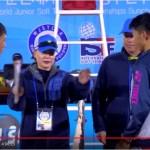 第三回世界ジュニア選手権 U15男子シングルス決勝 幡谷(日本) vs.CHEN(陳?)(台湾)