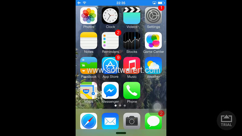 How to use airserver to mirror screen from iphone ipad for Mirror iphone to pc