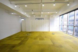 【賃料改定】恵比寿5分。1階にカフェが併設された天井高空間。