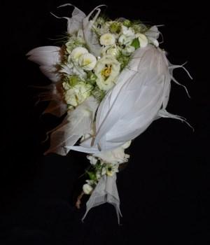 Angel bouquet de mariée Soiephemere