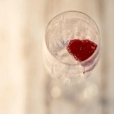 Champagne and Raspberries