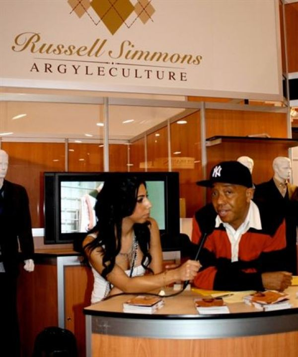 SoJones interviewing Russell Simmons