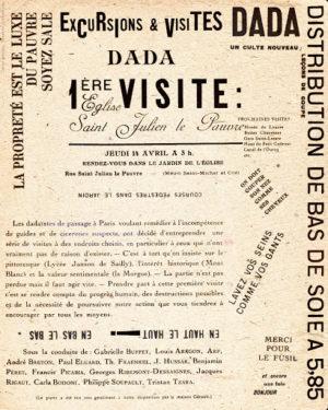1921. Carla Bodoni en Excursiones y visitas Dada. Un culto nuevo