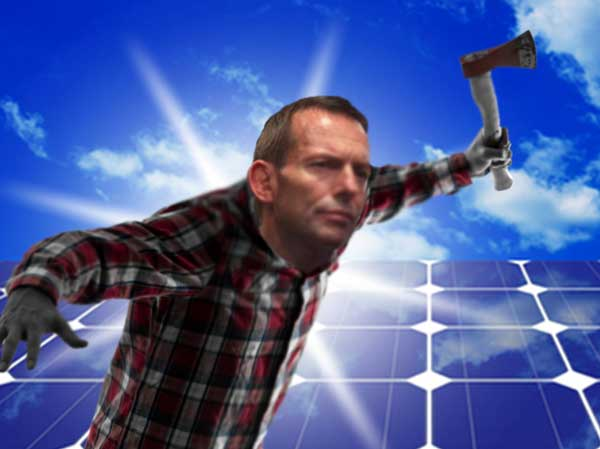 abbott and an axe