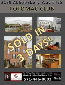 How Long Will It Take To Sell My House In   Potomac Club Woodbridge VA
