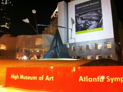 Atlanta's High Museum Near Table 1280 Restaurant