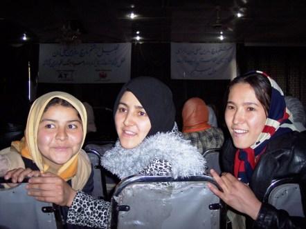 Afghan Girls, International Women's Day, Kabul, March 2006