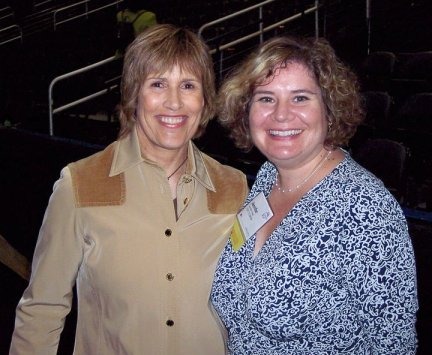 Endurance Swimmer Diana Nyad and Me in Atlanta, Ga., 2007