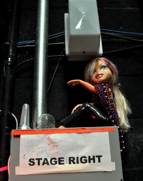 One of Three Dolls I Spotted Chilling Around the Van Wezel's Backstage, Sarasota, Fla.