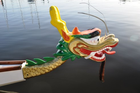 Head of a Dragon Boat