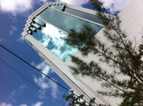 Consulate General of Brazil in Miami is Located in this Tall Bank Building