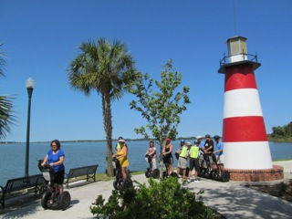 View of the Lighthouse at Mount Dora's Grantham Point Park