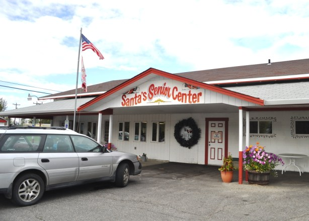 Maybe the North Pole, Alaska, Senior Center Would Be a Fun Place to Hang Out
