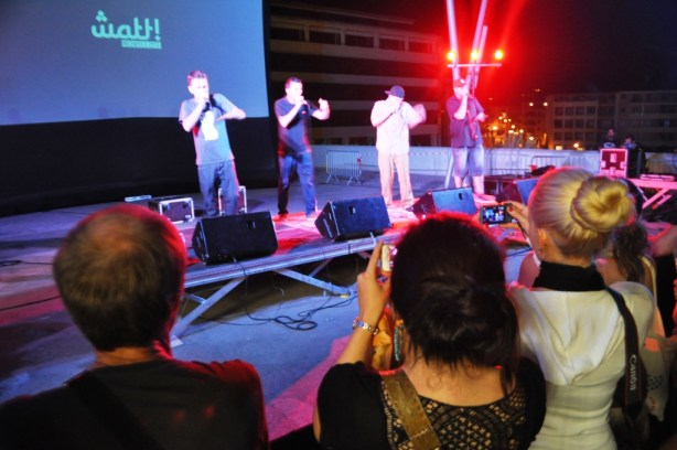 World Beatbox Champions Under Kontrol Performing in Aix-en-Provence, France