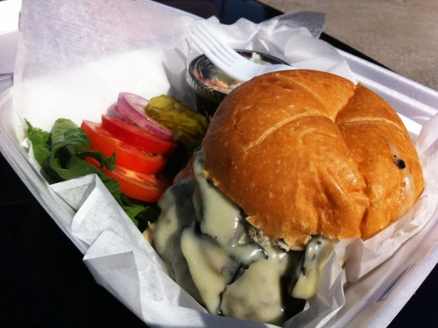 Rhino Burger du Jour from Southwest Florida Food Truck, The Ravenous Rhino