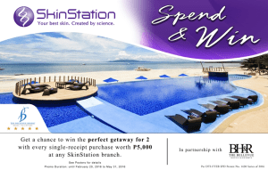 Spend & Win a Suite Escape for two