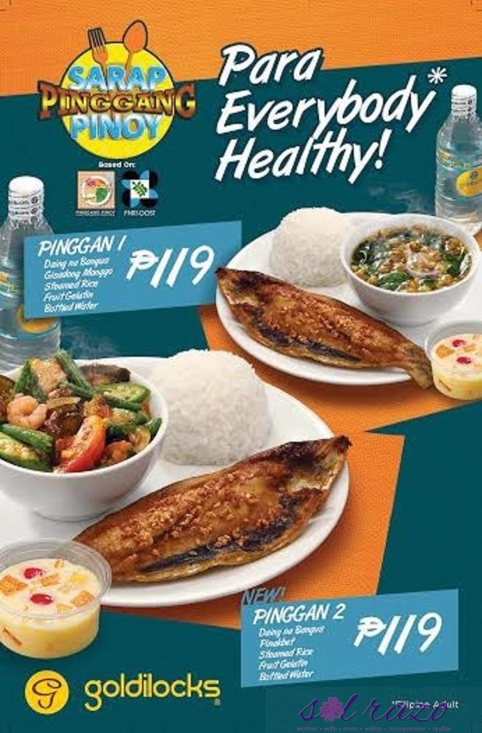 Goldilocks Pinakbet as Sarap Pinggang Pinoy Meals