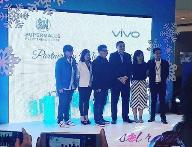 SM Supermalls partners with Vivo to kick-off the holiday season