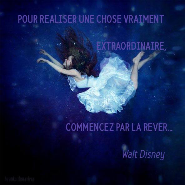 Commencer par la rêver,  Walt Disney
