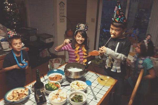 New Year's fondue