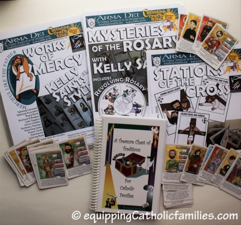 Zelie Charity Auction #CatholicCrafts bundle from Arma Dei