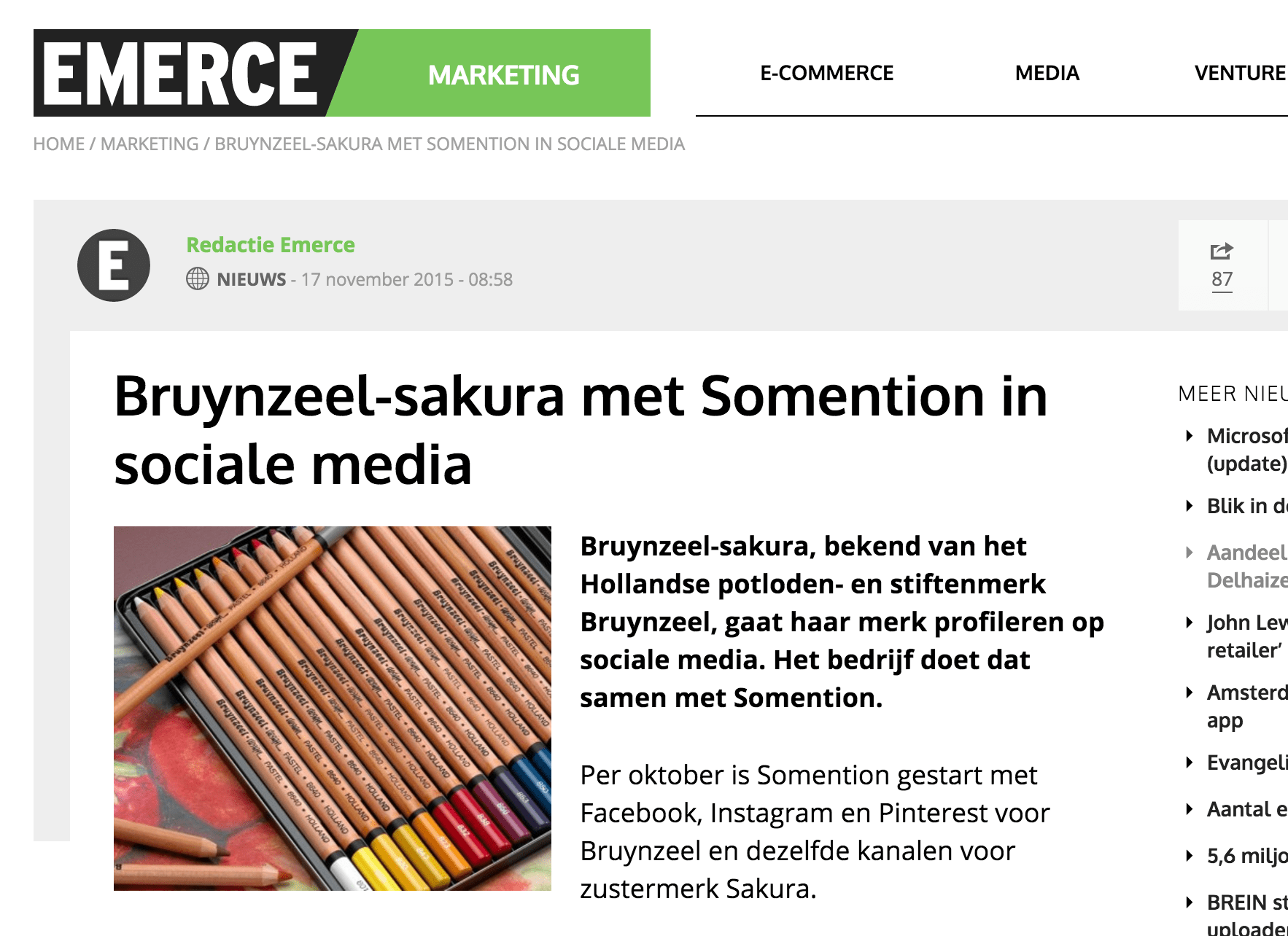 Emerce somention