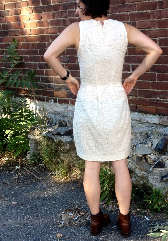 white lace dress - 3 of 7