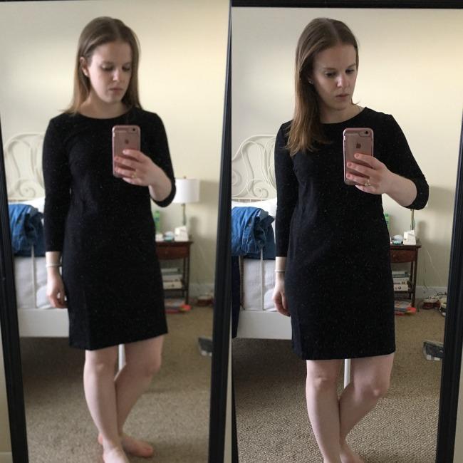 Old Navy Heavy-Knit Shift Dress, Shopping Reviews Vol. 36 | Something Good