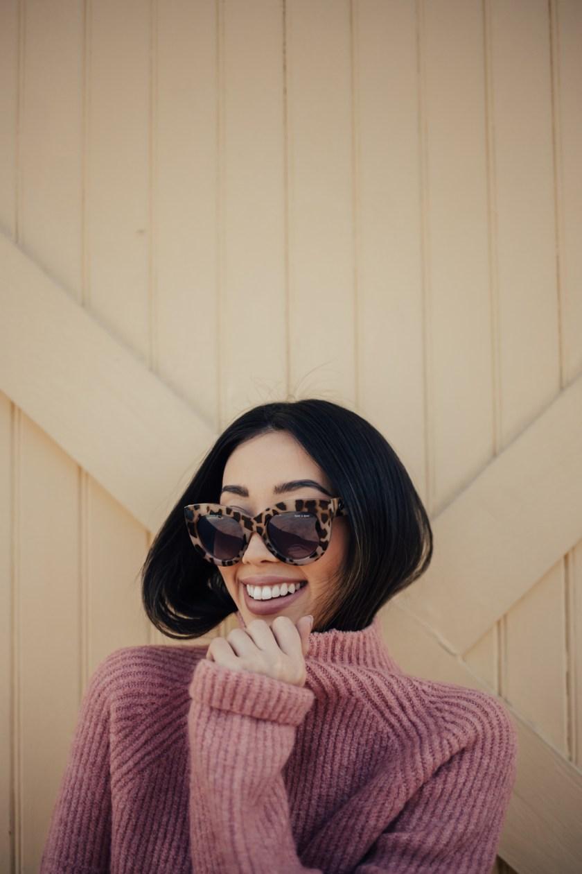 Something Sakura: Pink Madewell Sweater