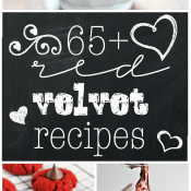 65+ Red Velvet Recipes | www.somethingswanky.com