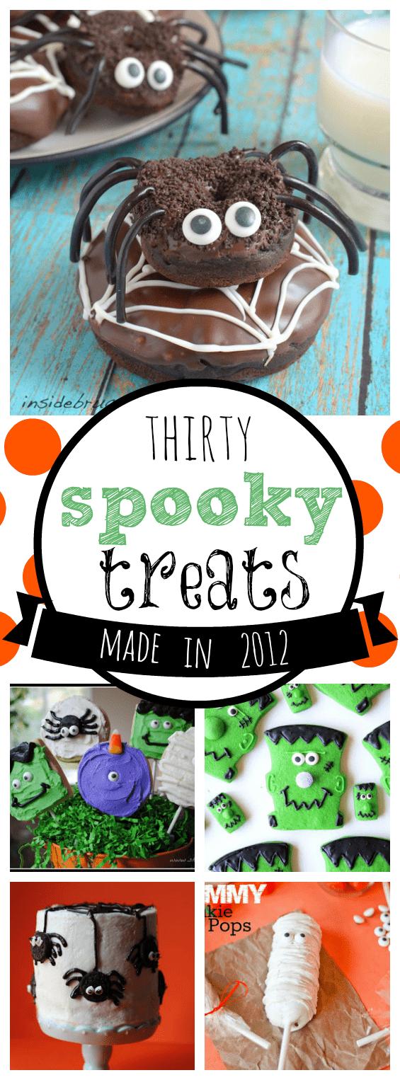 30 Spooky Halloween Treats Made in 2012   www.somethingswanky.com