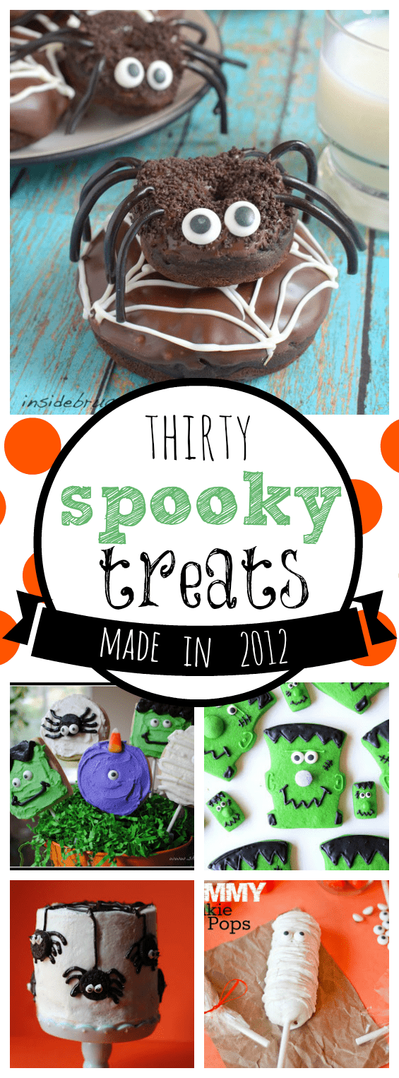 30 Spooky Halloween Treats Made in 2012 | www.somethingswanky.com