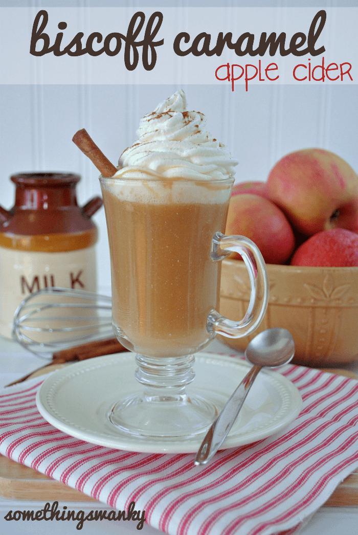 Biscoff Caramel Apple Cider