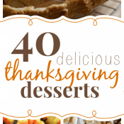 40 Delicious Thanksgiving Desserts | www.somethingswanky.com