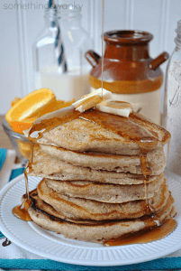 Homemade Pancake Mix for the very FLUFFIEST pancakes ever! All the ease and convenience of a mix, but all the great TASTE of making them from scratch! #pancakes #mix #recipe