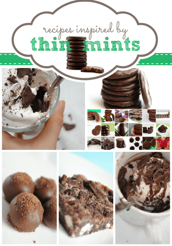 #ThinMints Inspired #Recipes at www.somethingswanky.com