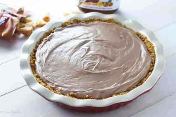 Nutelle Mousse Pie