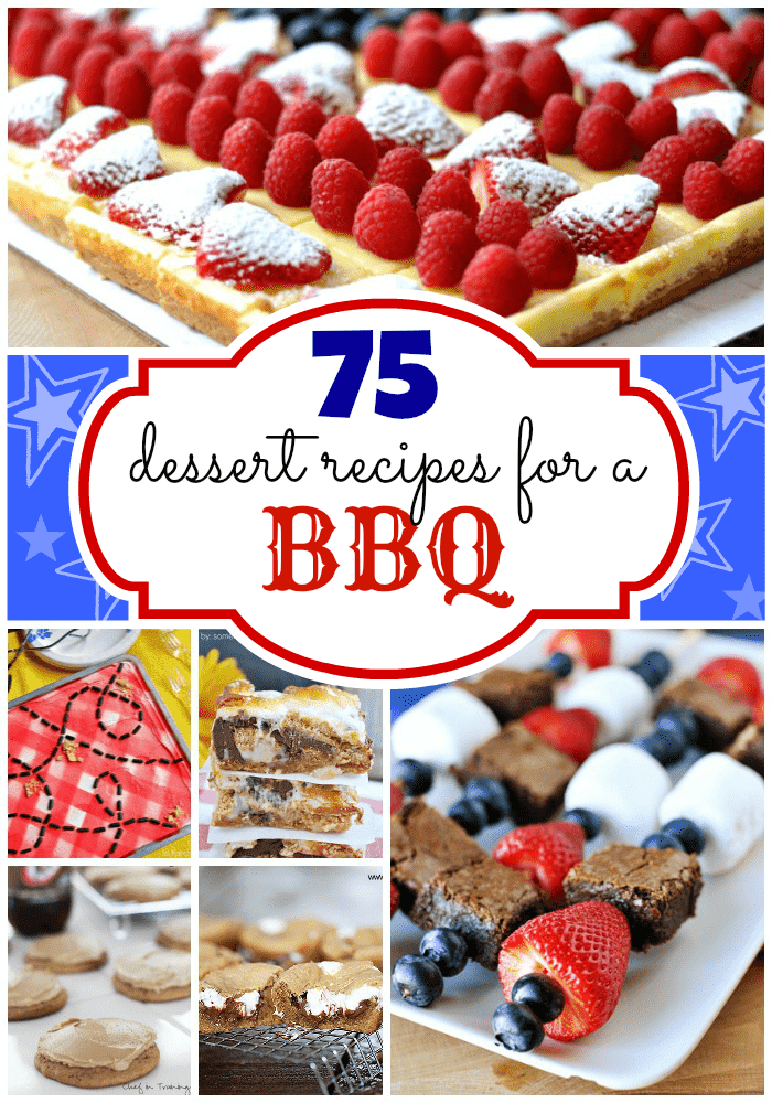 75 best desserts to bring to a bbq something swanky for What to serve at a bbq birthday party