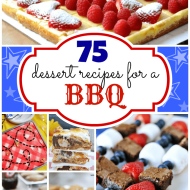 75 BBQ-worthy Desserts | www.somethingswanky.com