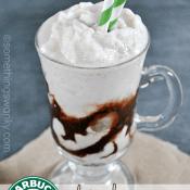 Starbucks Vanilla Frappuccino {dairy free} | www.somethingswanky.com
