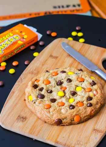 Giant-Reeses-Pieces-Peanut-Butter-Cookie-for-1-2