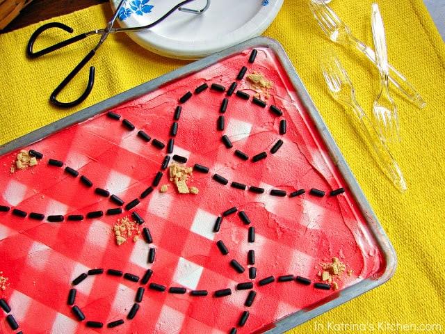 Memorial Day Picnic Table Cookies 039wm