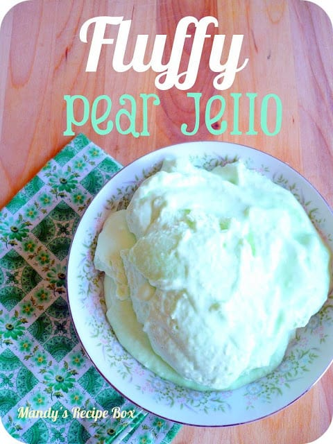 fluffy pear jello