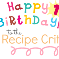 happy birthday recipe critic