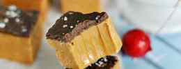 Easy Salted Caramel Fudge | www.somethingswanky.com
