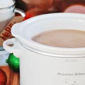 Crockpot Hot Chocolate | www.somethingswanky.com