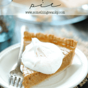 Pumpkin Pie | www.somethingswanky.com
