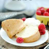 Golden Vanilla Pound Cake | www.somethingswanky.com