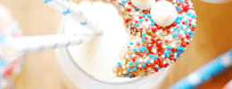 Funfetti Cheesecake Cookies | www.somethingswanky.com